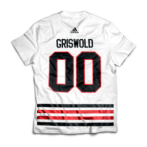 Clark Griswold 00 Chicago Blackhawks T-shirt from Christmas Vacation