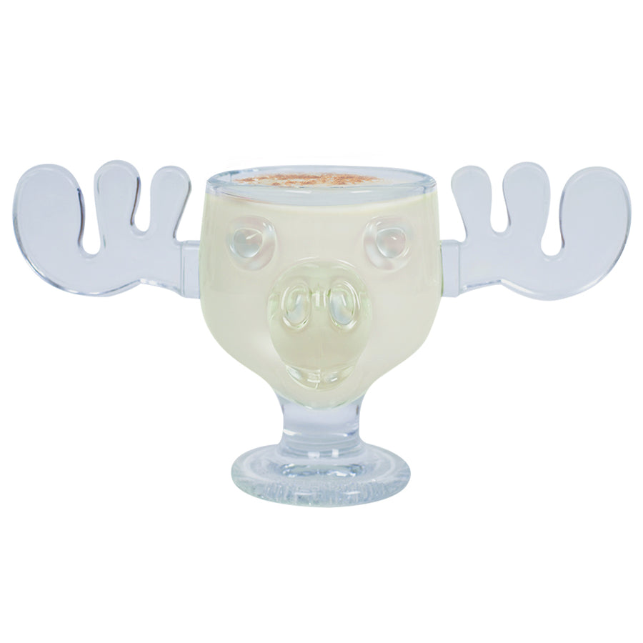 Glass 8oz Moose Mug from Christmas Vacation
