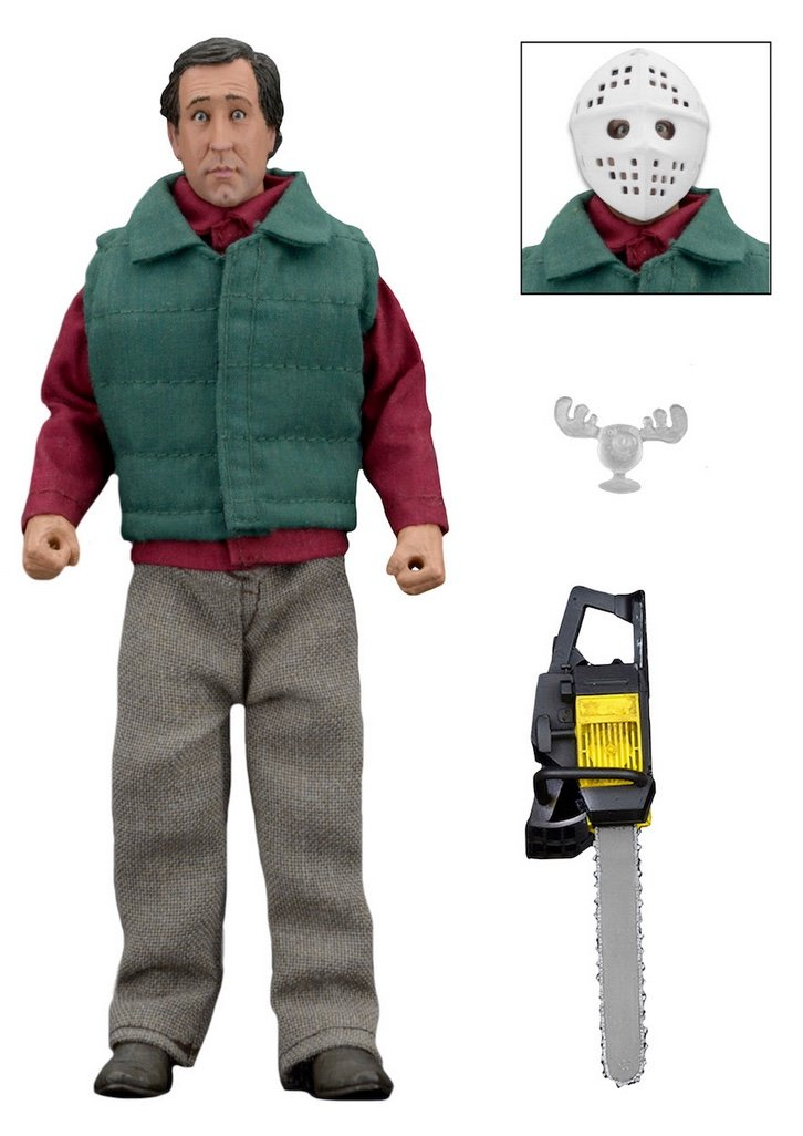 "Chainsaw Clark Clothed 8"" Figure from Christmas Vacation"