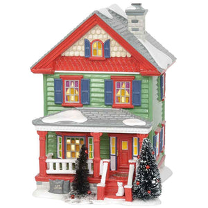 Aunt Bethany's House From Dept 56 Christmas Vacation Snow Village