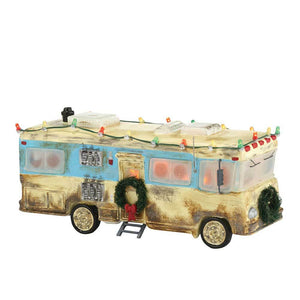 Cousin Eddie's RV From Dept 56 Christmas Vacation Snow Village