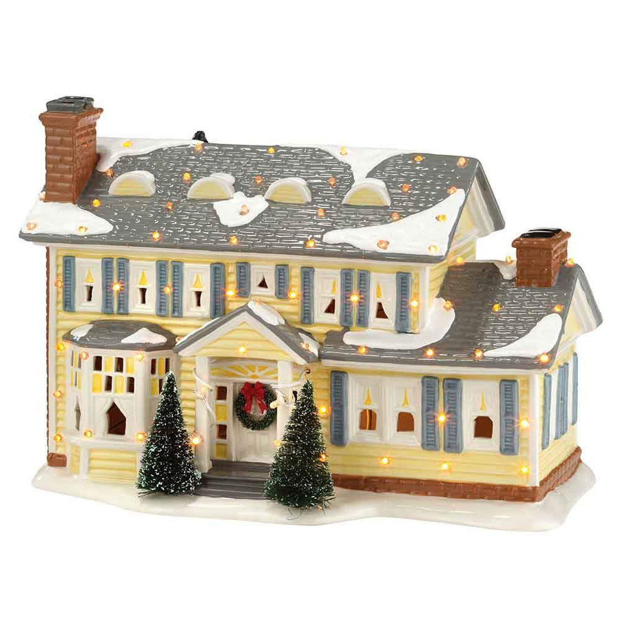 The Griswold Holiday House From Dept 56 Christmas Vacation Snow Village