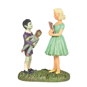 Eddie & Marilyn Munster From Dept 56 The Munsters