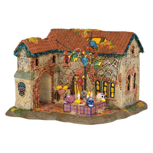 Day Of The Dead House From Dept 56 Halloween Snow Village
