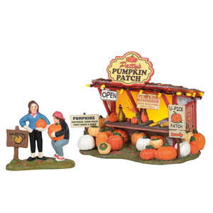 Patty's Pumpkin Patch From Dept 56 Halloween Snow Village