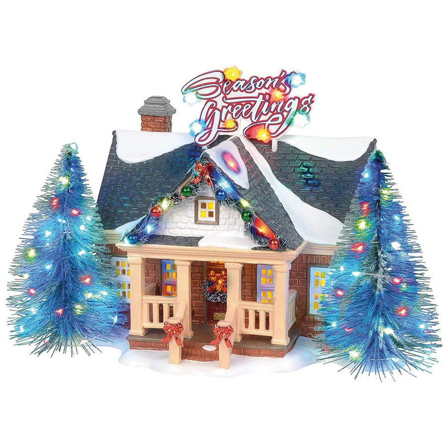 Brite Lites Holiday House From Dept 56 Snow Village