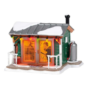 Home Sleet Home Fish Shack From Dept 56 Snow Village