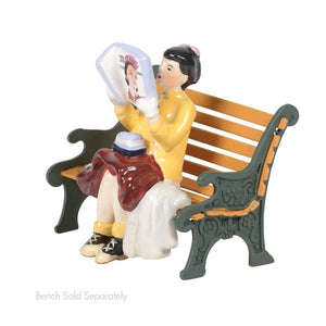 Rockwell's Cover Girl From Dept 56 Snow Village