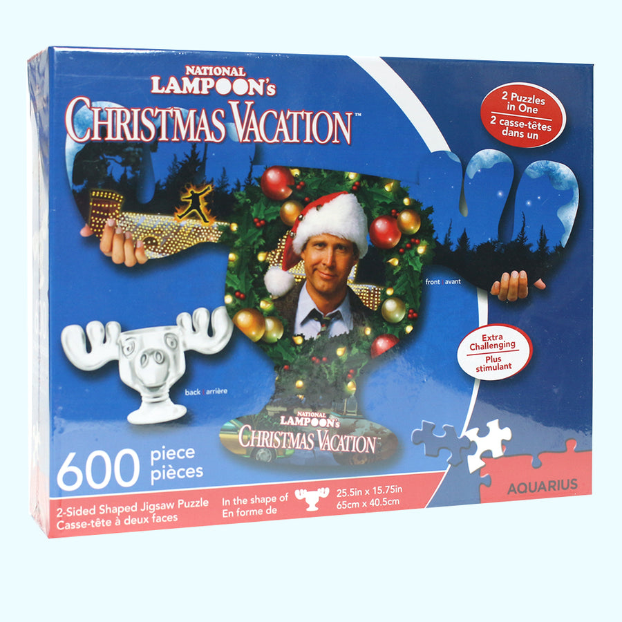 Christmas Vacation Clark and Moose Mug 600pc Puzzle