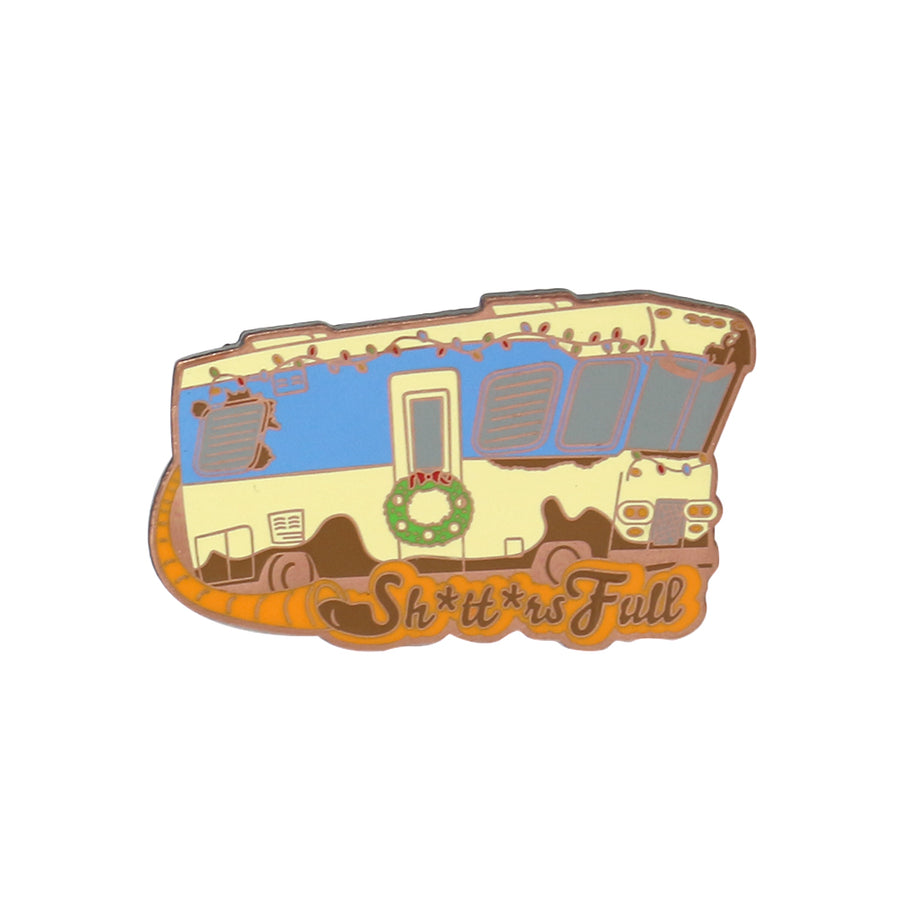 RV Enamel Pin
