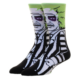 Betelgeuse 360 Crew Socks from Beetlejuice
