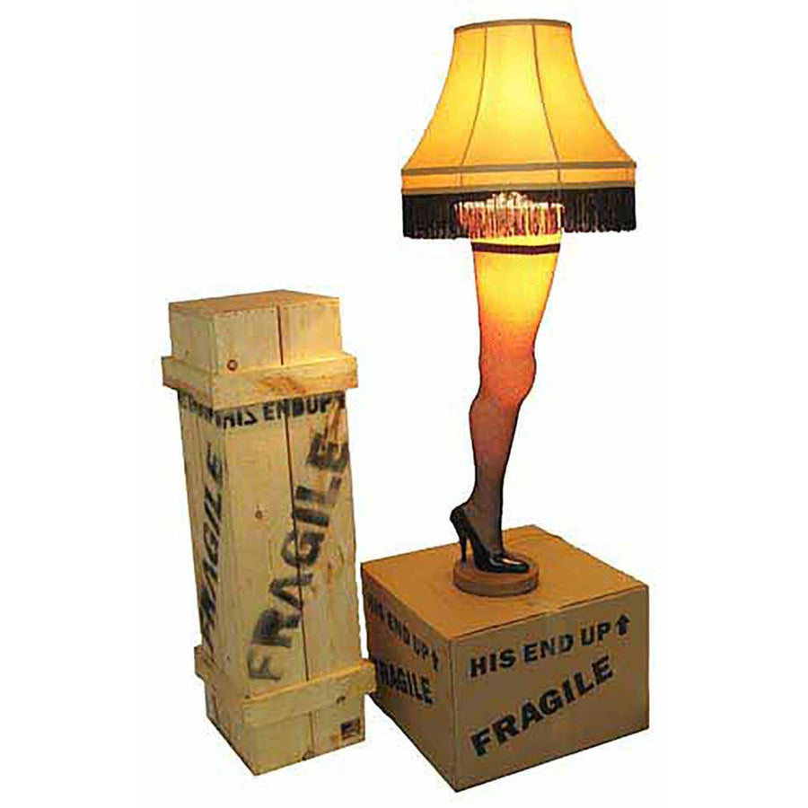 "A Christmas Story 50"" Deluxe Full Size Leg Lamp"