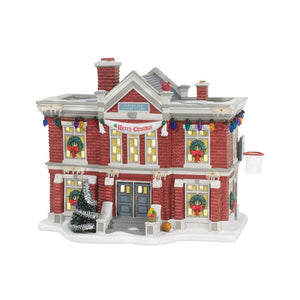 Cleveland Elementary School from Dept 56 A Christmas Story Village