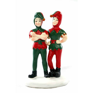 Department Store Elves from Dept 56 A Christmas Story Village RETIRED