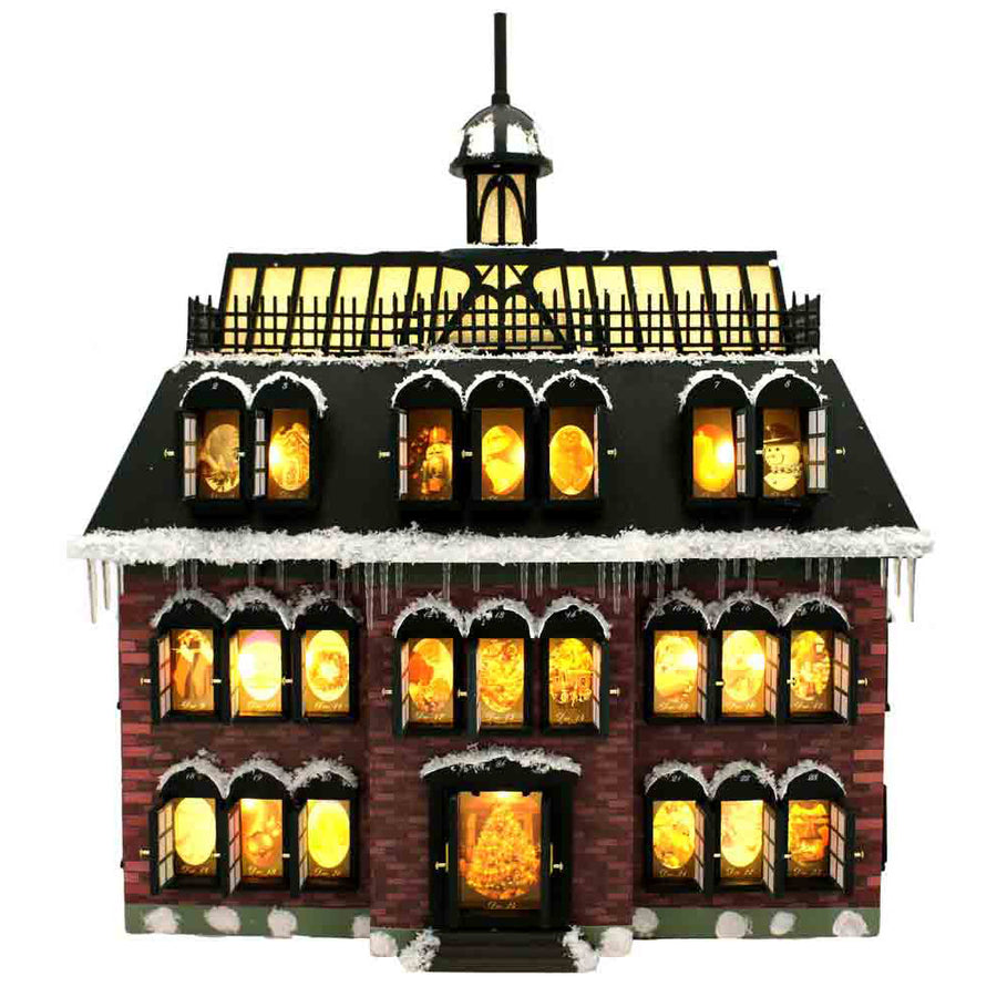 Advent House Calendar from Christmas Vacation
