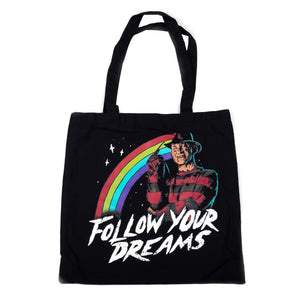 Follow Your Dreams Tote Bag from A Nightmare on Elm Street