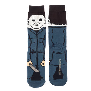 Michael Myers 360 Crew Socks from Halloween