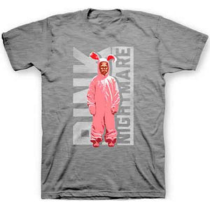 Pink Nightmare Long and Short Sleeve T-shirt from A Christmas Story