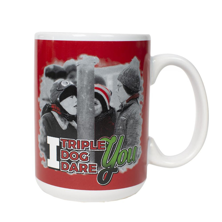 Triple Dog Dare Ceramic Mug