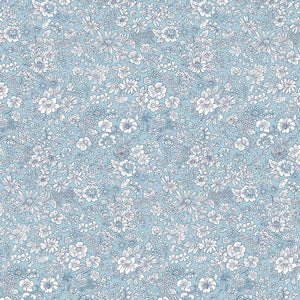 Liberty of London Flower Shop Spring Emily Silhouette Blue