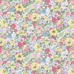 Liberty of London Flower Show Spring Malvern Meadow quilt fabric