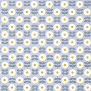 Retro Daisy on Grey