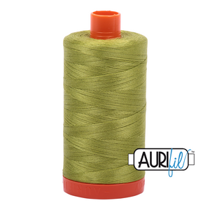 Aurifil 50wt Thread - Light Leaf Green 1147
