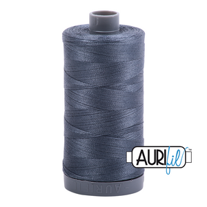 Aurifil 28wt Thread - Medium Grey 1158