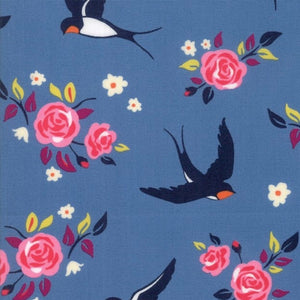 Rosa Sea quilt fabric by Crystal Manning for Moda