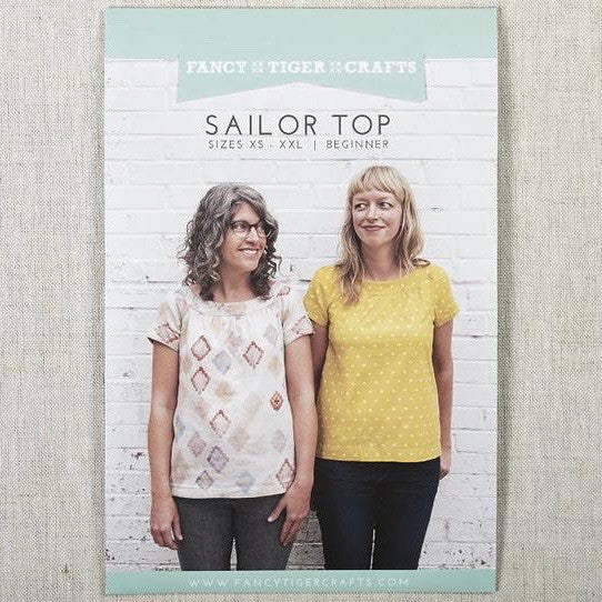 Sailor Top Pattern by Fancy Tiger