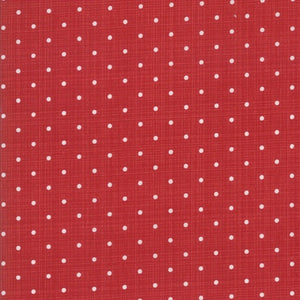 Sweet Tea Dot Red by Sweetwater for Moda Fabrics