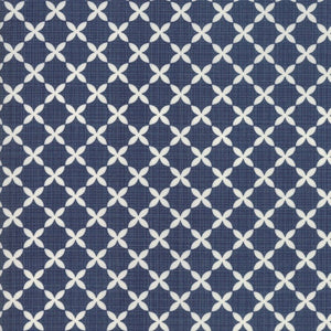 Sweet Tea Lattice Navy by Sweetwater for Moda Fabrics