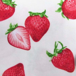 Oxford Cloth - Strawberries