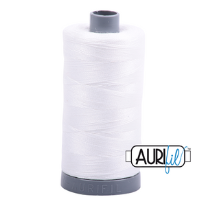 Aurifil 28wt Thread - Natural White