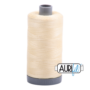 Aurifil 28wt Thread - Light Lemon 2110