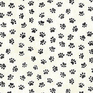 You had me at meow cats paws quilt fabric by Northcott fabrics
