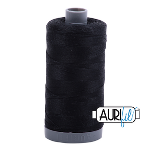 Aurifil 28wt Thread - Black