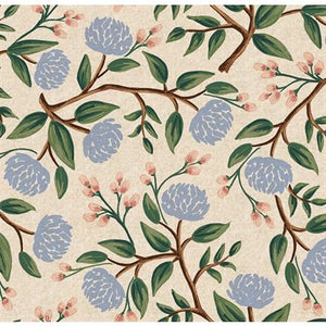 Rifle Paper Co Wildwood Canvas Peonies Cream