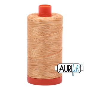 Aurifil 50wt Thread - Variegated Creme Brule