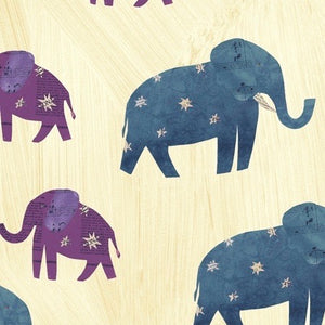 Wish Painted Starry Elephants