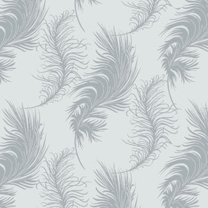 Laura Ashley Grace Light Grey Plume quilt fabric by Camelot Fabrics