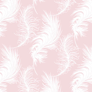 Laura Ashley Grace Light Pink Plume quilt fabric by Camelot Fabrics