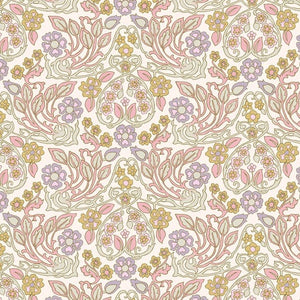 Velma in Lavender from Flora Folk by Margot Elena for Freespirit Fabrics