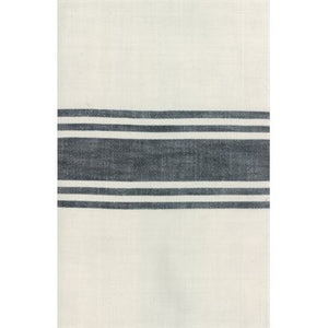 Urban Cottage Toweling Ivory/Black
