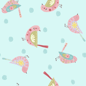 Sun 'n Soil Birds fabric by Hope Yoder for Blank Quilting