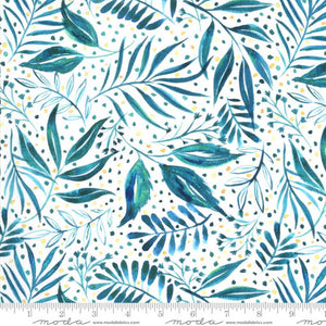 Moody Bloom Breezy Botanical Teal