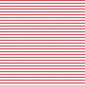 Fox Farm Red and White Striped fabric for Riley Blake