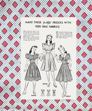 Feed Sacks - The Colourful History of a Frugal Fabric by Linzee Kull McCray