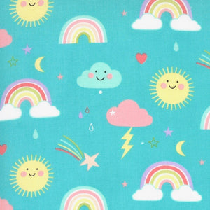 Hello Sunshine! Rainbows Aqua