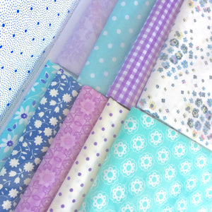 Country Clothesline's Blue & Lavender Quilt Kit